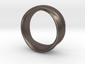 Mobius Ring 19mm inner Diameter in Stainless Steel