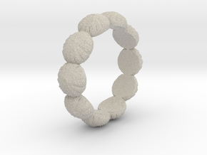 Urchin Ring 1 - US-Size 12 1/2 (21.89 mm) in Natural Sandstone