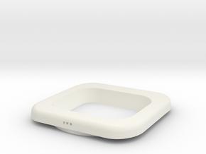 Sx350squarebezelroundholevertoffset 2 PIECE VERSIO in White Natural Versatile Plastic