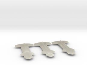 Terran (TFN) Cruiser Datagroup in White Acrylic
