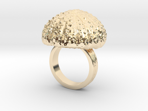 Urchin Statement Ring - US-Size 6 (16.51 mm) in 14k Gold Plated Brass
