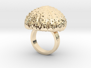 Urchin Statement Ring - US-Size 4 1/2 (15.27 mm) in 14k Gold Plated Brass