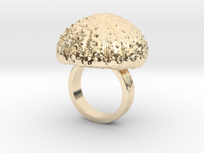 Urchin Statement Ring - US-Size 5 (15.7 mm) in 14k Gold Plated Brass