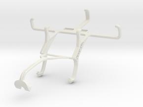 Controller mount for Xbox 360 & Vodafone Smart fir in White Natural Versatile Plastic