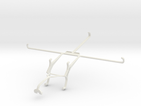 Controller mount for Xbox 360 & Vodafone Tab Prime in White Natural Versatile Plastic