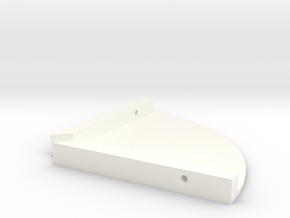 01-11-16 Speaker Shelves in White Processed Versatile Plastic