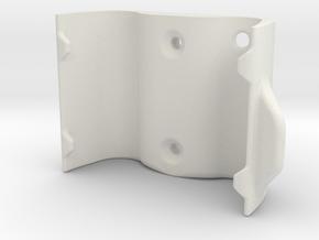 Halter Oberteil in White Natural Versatile Plastic