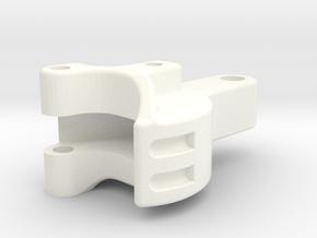 """3/4"""" scale Pilot Coupler in White Processed Versatile Plastic"""