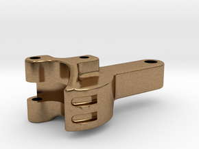"""3/4"""" scale coupler in Natural Brass"""