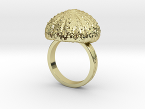 Urchin Statement Ring - US-Size 11 1/2 (21.08 mm) in 18k Gold Plated Brass