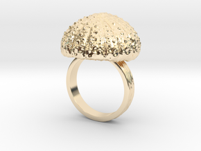 Urchin Statement Ring - US-Size 10 (19.84 mm) in 14k Gold Plated Brass