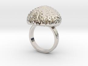 Urchin Statement Ring - US-Size 10 1/2 (20.20 mm) in Platinum