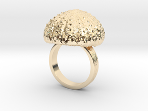 Urchin Statement Ring - US-Size 8 1/2 (18.53 mm) in 14K Yellow Gold