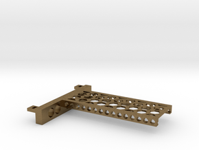 G751 M.2 Bracket With Holes For 2 Drives closed to in Natural Bronze