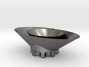 Dish 4 of 4 in Polished Nickel Steel