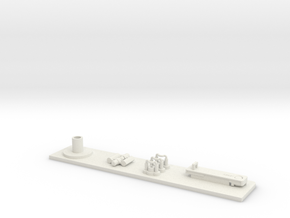 ST Automatic Blaster Aluminum Plate and Parts in White Strong & Flexible