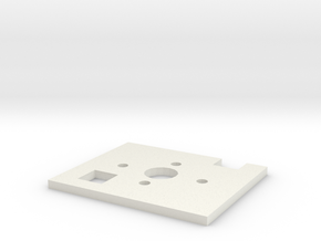 Firewall For Power Pod A in White Natural Versatile Plastic