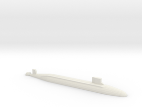 Seawolf-Class SSN, 1/2400 in White Natural Versatile Plastic
