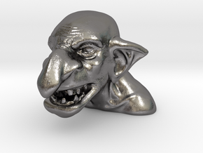 Eddie's Orc in Polished Nickel Steel