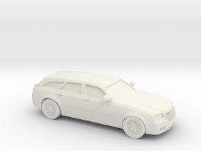 1/87 2010 Chrysler 300c Touring in White Natural Versatile Plastic