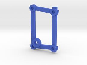 Blank Rune - Futhark Nordic Rune Stones - Piece 25 in Blue Processed Versatile Plastic