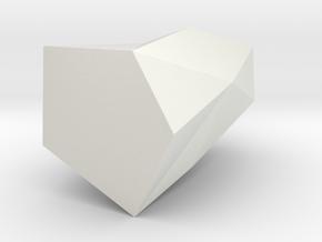 table vase in White Natural Versatile Plastic