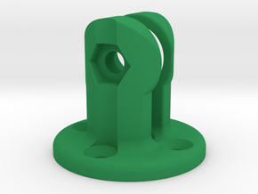K-Edge Combo Mount Virb Interface in Green Processed Versatile Plastic