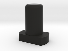 RPI LCD Case Button in Black Natural Versatile Plastic