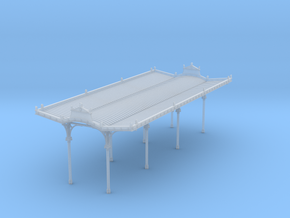 NQP11 Railway platform in Smoothest Fine Detail Plastic