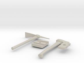 1/10 Scale axe - pick kit in Natural Sandstone