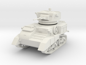 PV75A Mk VIC Desert Version (28mm) in White Natural Versatile Plastic