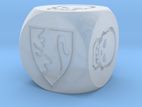 HeroQuest Die (13mm) in Smoothest Fine Detail Plastic