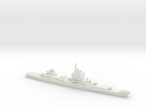 USS Long Beach, 1967, 1/2400 in White Natural Versatile Plastic