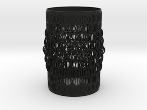 VASE ASTRAL in Black Natural Versatile Plastic