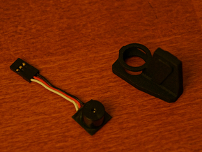 Discovery Buzzer Holder in Black Natural Versatile Plastic