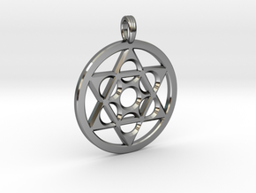 METATRON STAR SIX in Premium Silver