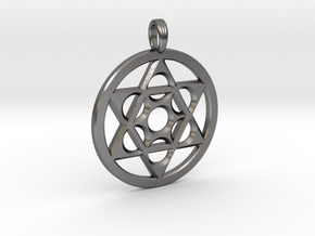 METATRON STAR SIX in Polished Nickel Steel