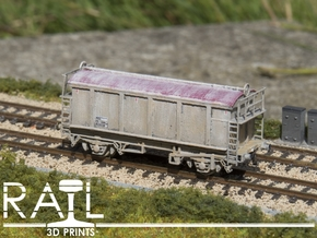PRA China Clay Wagon N Scale (1:148) in Smooth Fine Detail Plastic