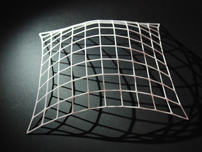 Gridshell OttoFrei in White Natural Versatile Plastic