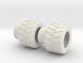 1:87 Skidder in White Natural Versatile Plastic
