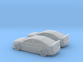1/160 2X Holden Caprice Racer in Smooth Fine Detail Plastic