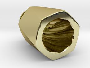 HEX TORQUE Driptip in 18k Gold