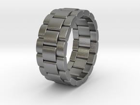 Tibalda - Ring in Natural Silver: 11 / 64