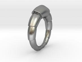 Mats - Ring in Natural Silver: 9 / 59