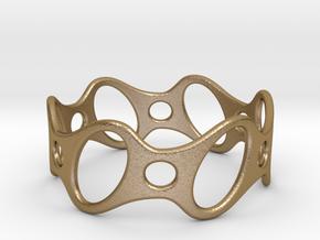 Fantasy Bracelet 75 in Polished Gold Steel