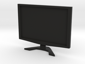 "Acer 22"" LCD - 1:12 scale in Black Natural Versatile Plastic"