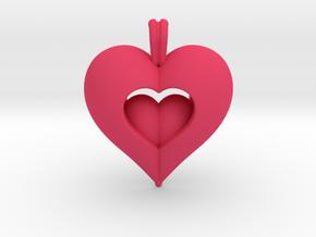 Open Love in Pink Processed Versatile Plastic