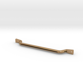 1/10 scale CJ-7 passenger grab bar in Polished Brass