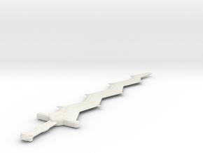 Mini Levin Sword: Fire Emblem Awakening in White Natural Versatile Plastic