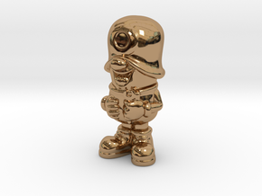 SmileCappy FullColor in Polished Brass